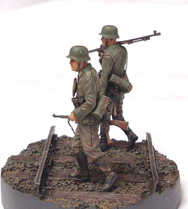 Dioramas and Vignettes: German tank hunters, photo #2