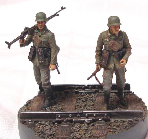 Dioramas and Vignettes: German tank hunters