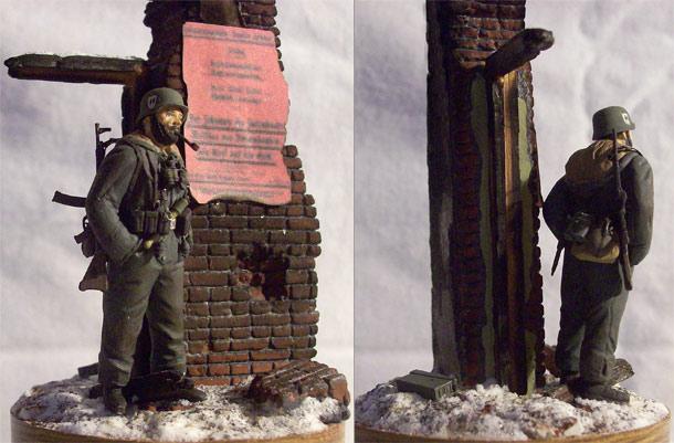 Figures: Panzergrenadier, Totenkopf div.