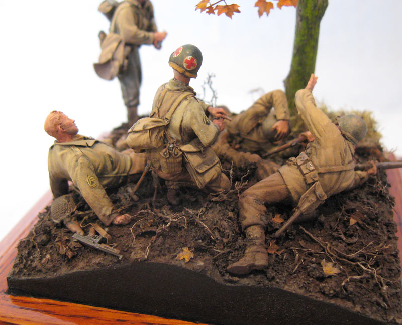 Dioramas and Vignettes: Hurtgen forest, photo #1