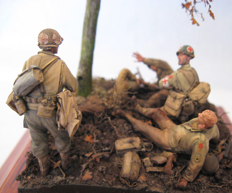 Dioramas and Vignettes: Hurtgen forest, photo #2