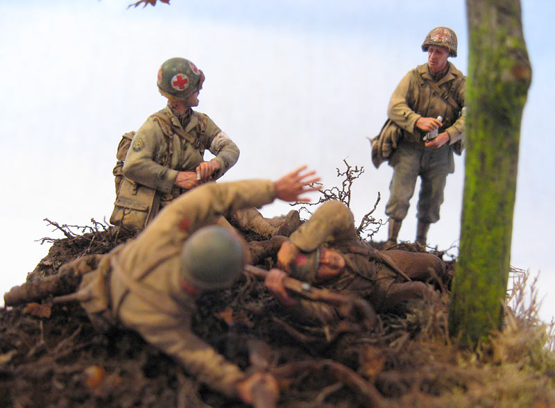 Dioramas and Vignettes: Hurtgen forest, photo #4