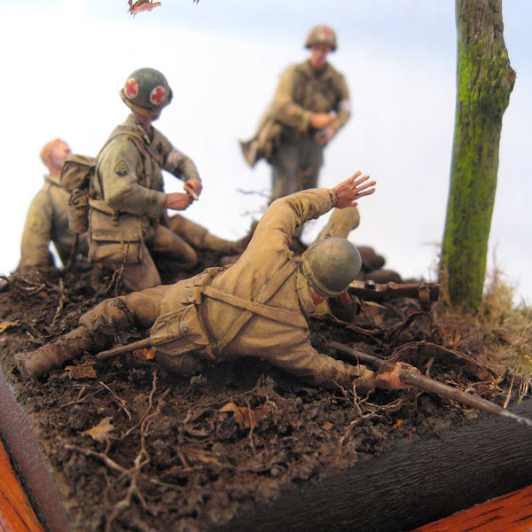 Dioramas and Vignettes: Hurtgen forest, photo #5