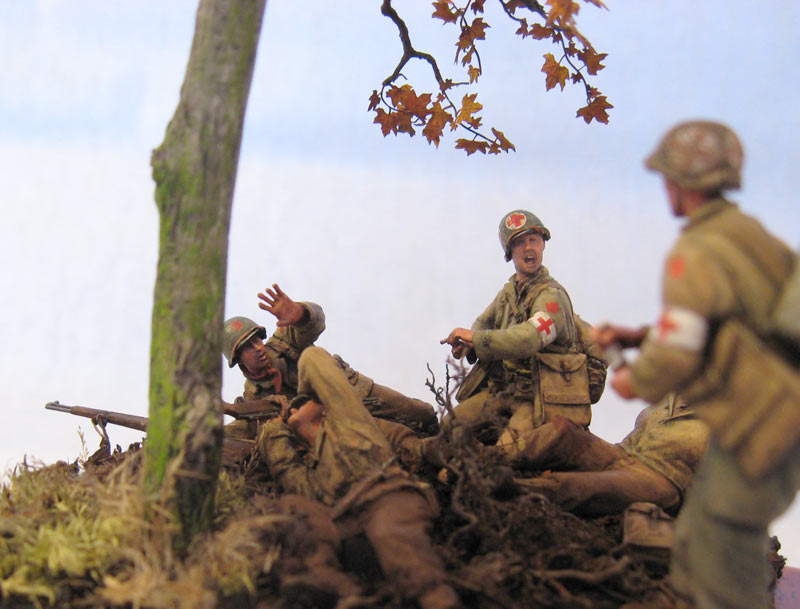 Dioramas and Vignettes: Hurtgen forest, photo #8