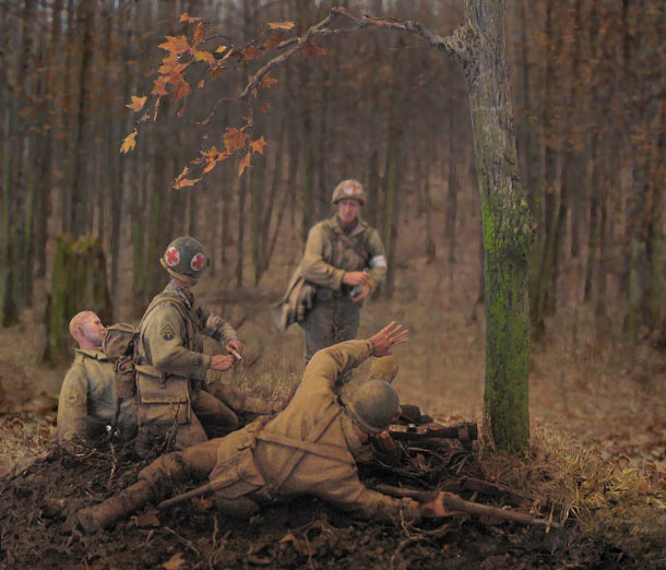 Dioramas and Vignettes: Hurtgen forest