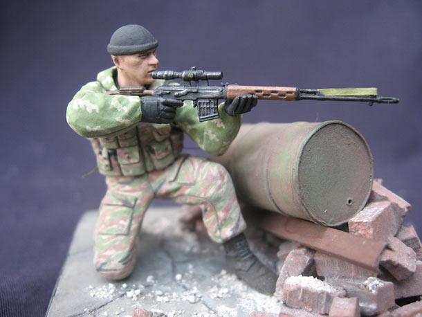 Figures: Sniper, Moscow OMON special forces
