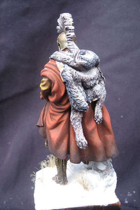 Figures: Alexander the Great and Gannibal's army warlord, photo #7