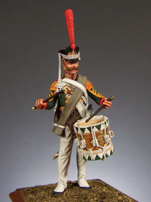 Figures: Drummer, Leib-Guards Semenovsky regt., 1812, photo #1