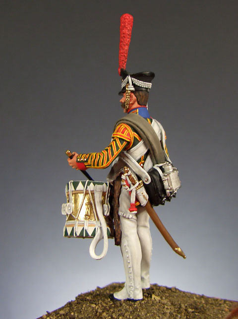 Figures: Drummer, Leib-Guards Semenovsky regt., 1812, photo #3