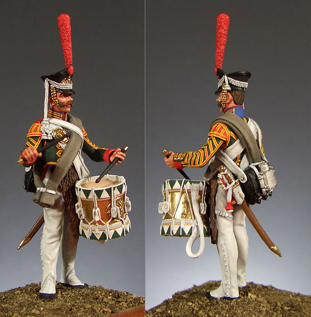 Figures: Drummer, Leib-Guards Semenovsky regt., 1812