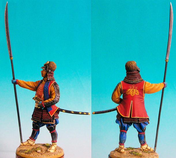 Figures: Samurai, 1615