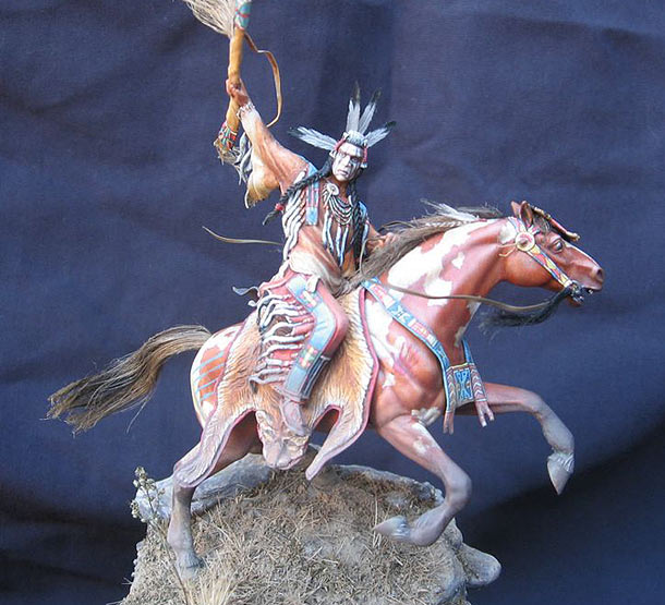Figures: Crow Indian
