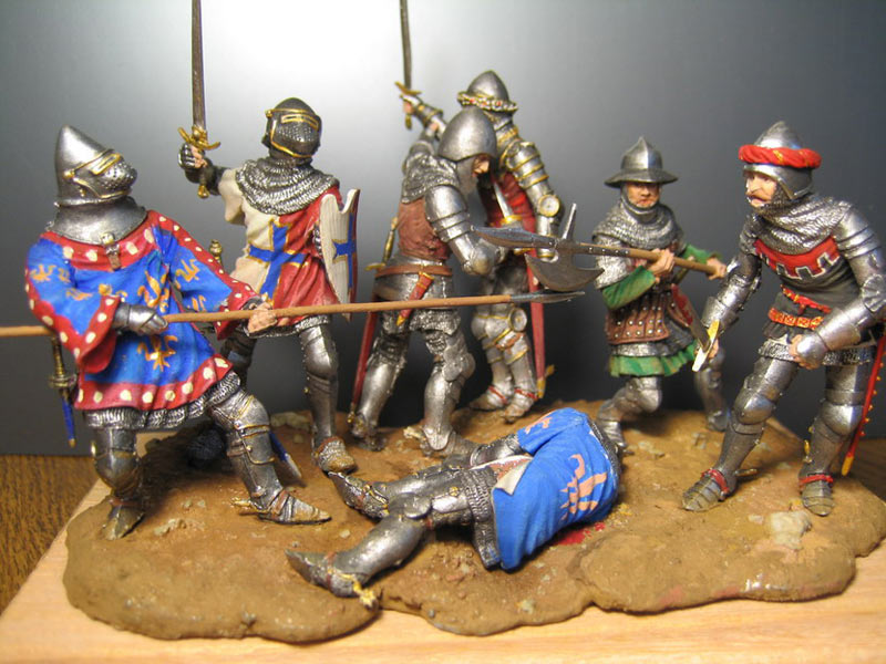 Dioramas and Vignettes: Battle of Agincourt, photo #1