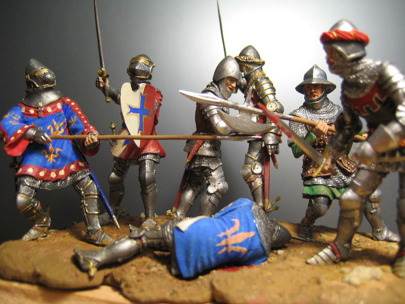 Dioramas and Vignettes: Battle of Agincourt, photo #2