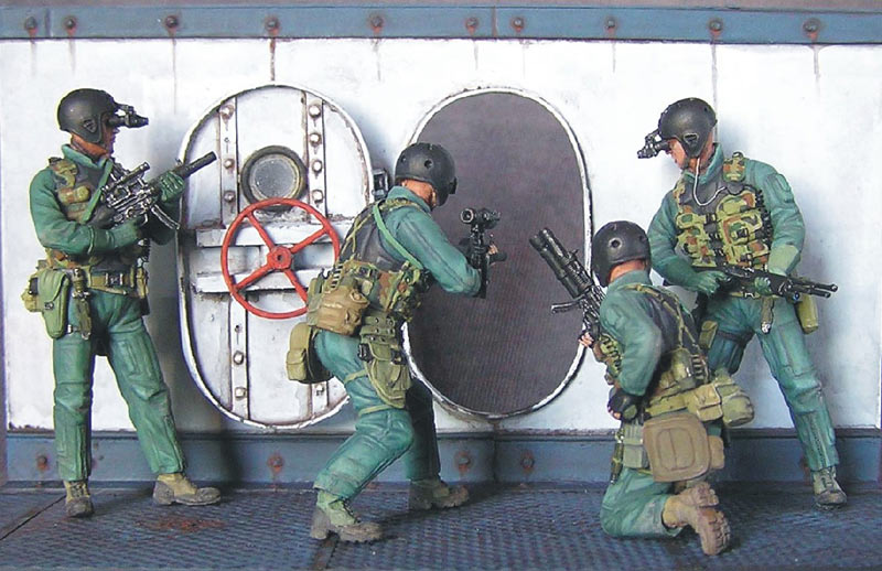 Photo 1 - SEAL team 8 | Dioramas and Vignettes | Gallery on Diorama ru