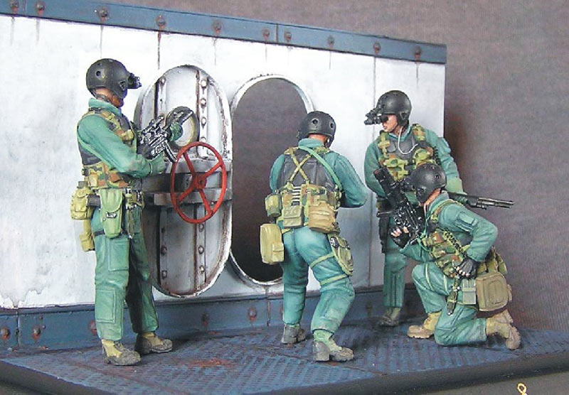 Photo 2 - SEAL team 8 | Dioramas and Vignettes | Gallery on Diorama ru