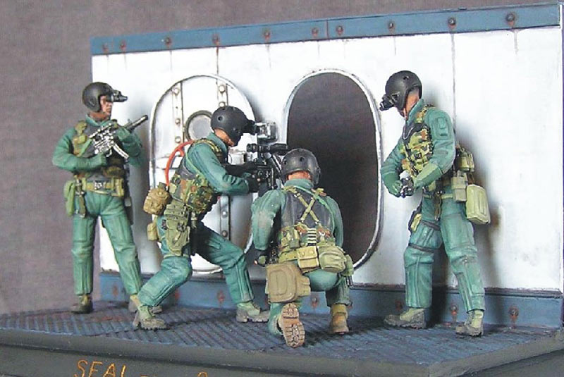 Photo 3 - SEAL team 8   Dioramas and Vignettes   Gallery on