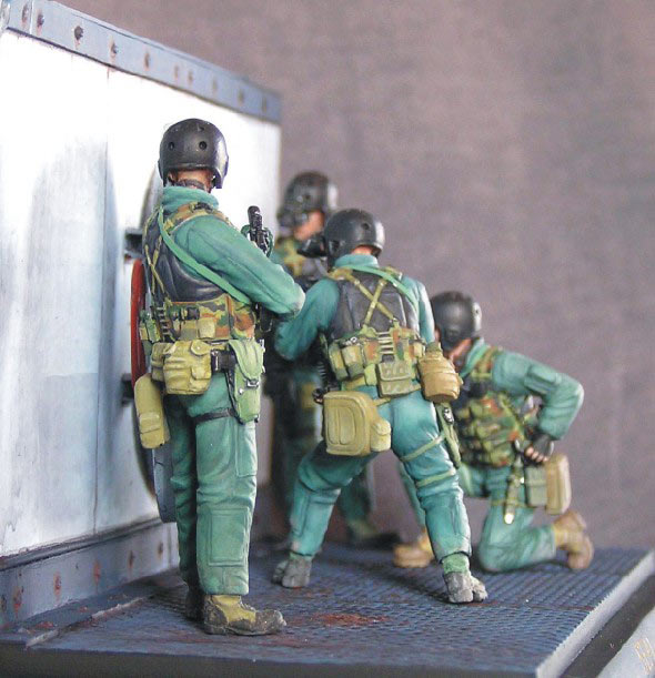 Photo 4 - SEAL team 8 | Dioramas and Vignettes | Gallery on