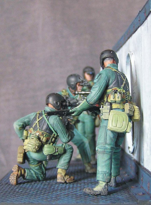 Photo 5 - SEAL team 8 | Dioramas and Vignettes | Gallery on Diorama ru