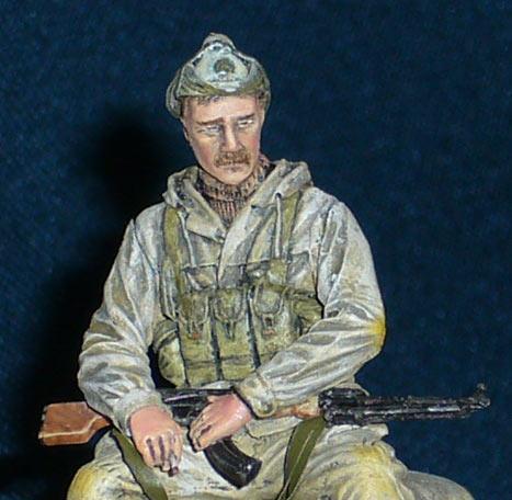 Figures: Soviet spetsnaz officer, Afghanistan, 1986-89, photo #3