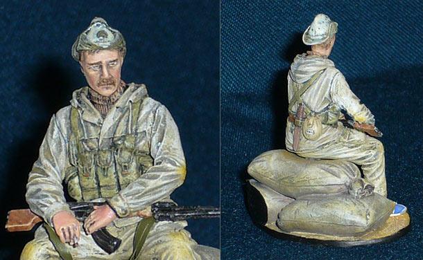 Figures: Soviet spetsnaz officer, Afghanistan, 1986-89