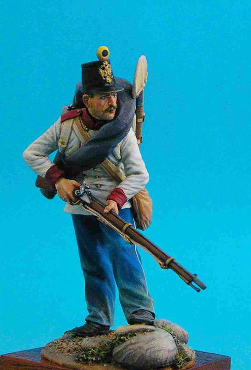 Figures: Austrian Fusilier, 1859, photo #5