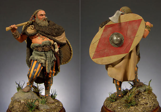 Figures: Germanic warrior