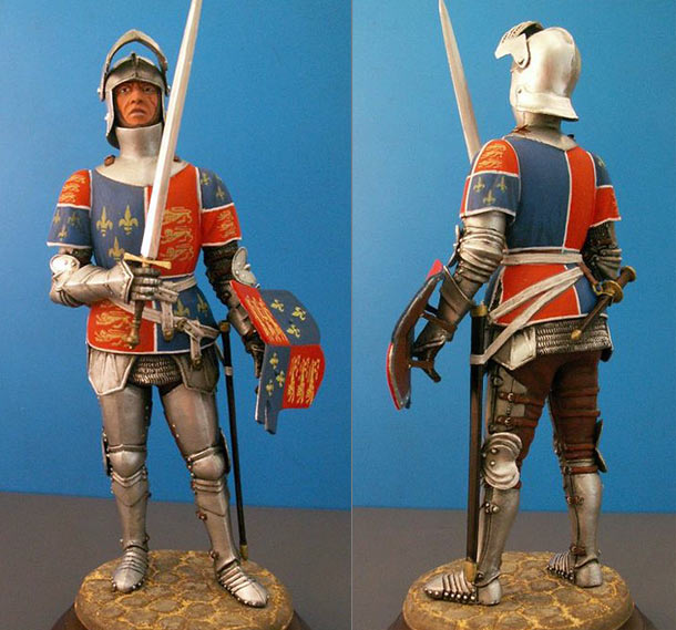 Figures: English knight