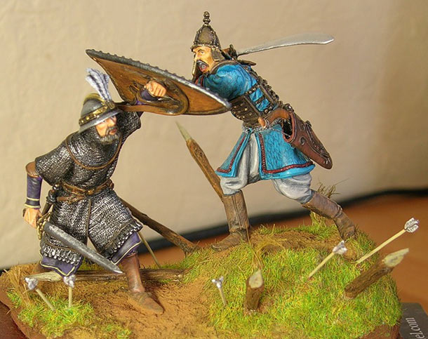Dioramas and Vignettes: Deadly confrontation