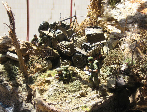Dioramas and Vignettes: The incident