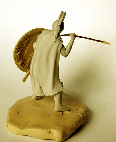 Sculpture: Spartan hoplites, photo #11