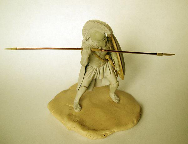 Sculpture: Spartan hoplites, photo #7