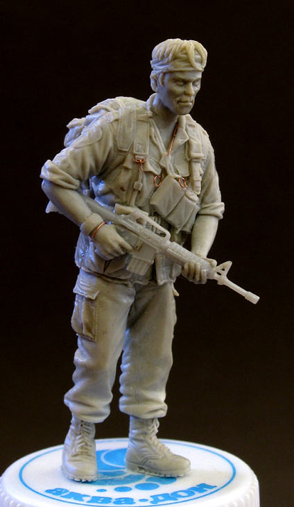Sculpture: Sgt., 25 infantry div. Vietnam`68, photo #1