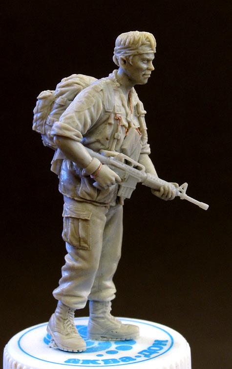 Sculpture: Sgt., 25 infantry div. Vietnam`68, photo #2