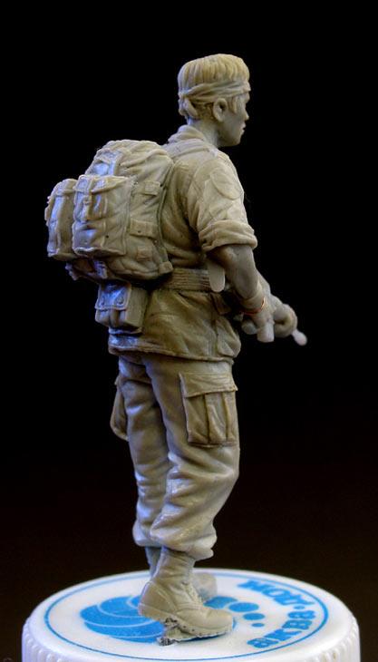 Sculpture: Sgt., 25 infantry div. Vietnam`68, photo #3