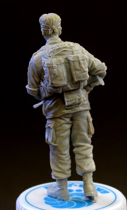 Sculpture: Sgt., 25 infantry div. Vietnam`68, photo #4