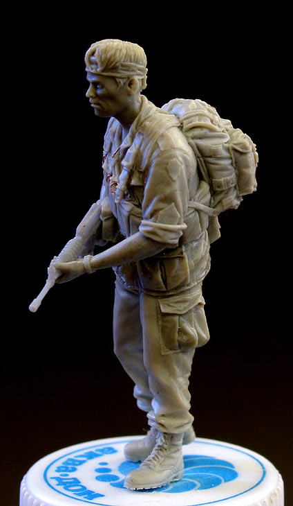 Sculpture: Sgt., 25 infantry div. Vietnam`68, photo #5