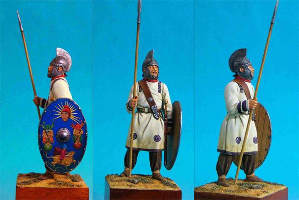 Figures: Roman Infantryman, 3 AD