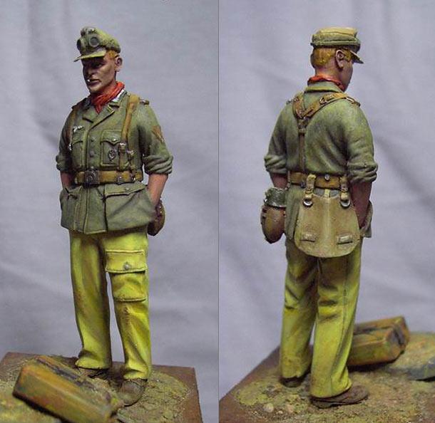 Figures: DAK gefreiter, Tunisia 1943