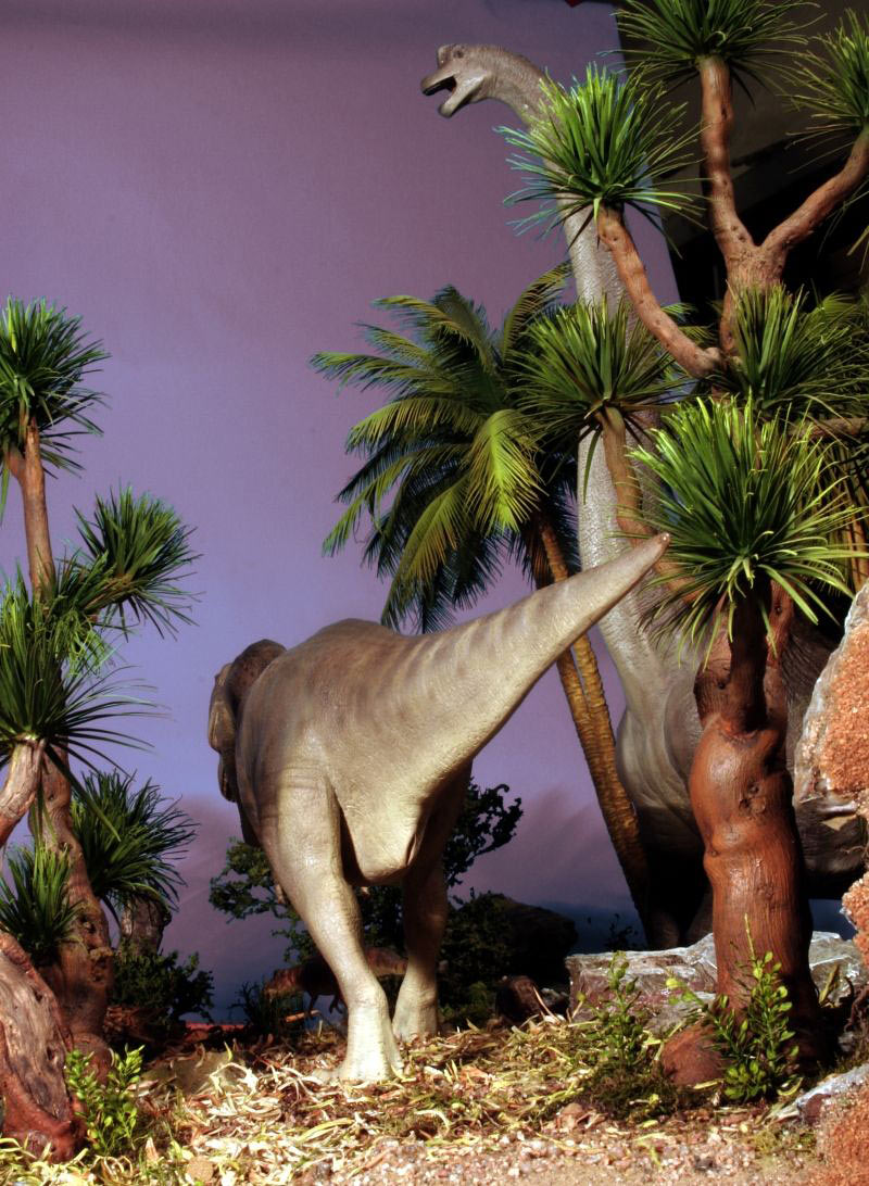 Dioramas and Vignettes:  Bank Holiday. Late Cretaceous., photo #13
