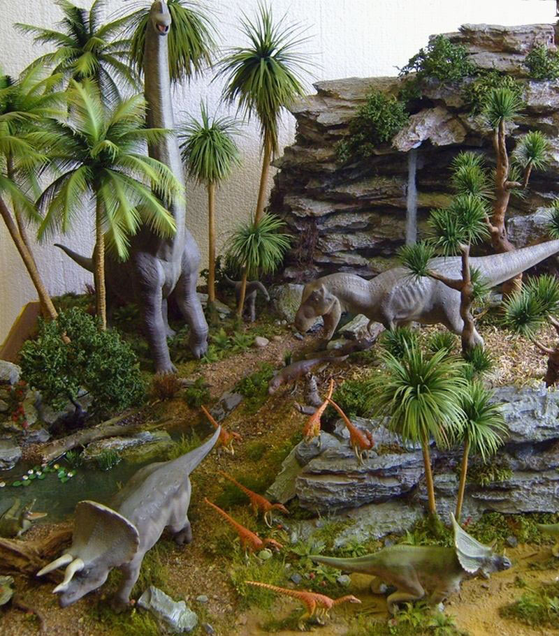 Dioramas and Vignettes:  Bank Holiday. Late Cretaceous., photo #14