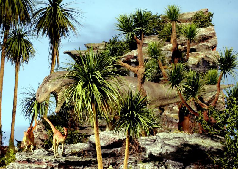 Dioramas and Vignettes:  Bank Holiday. Late Cretaceous., photo #2