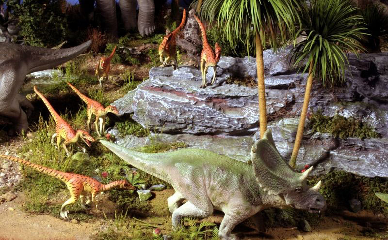 Dioramas and Vignettes:  Bank Holiday. Late Cretaceous., photo #5