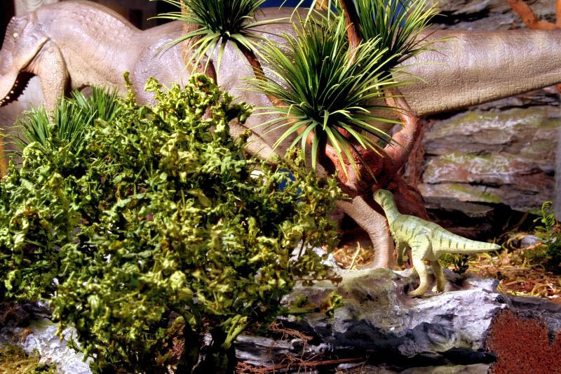 Dioramas and Vignettes:  Bank Holiday. Late Cretaceous., photo #7