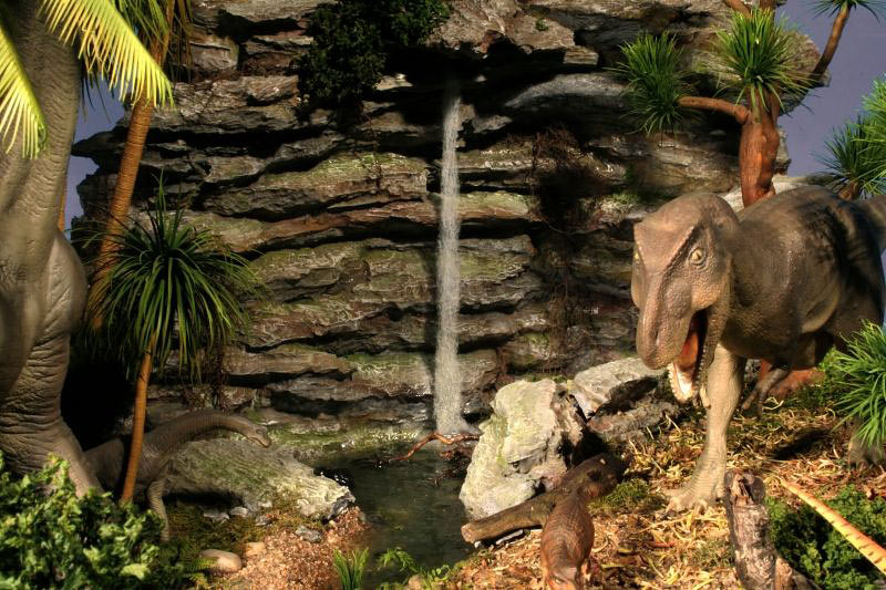 Dioramas and Vignettes:  Bank Holiday. Late Cretaceous., photo #9