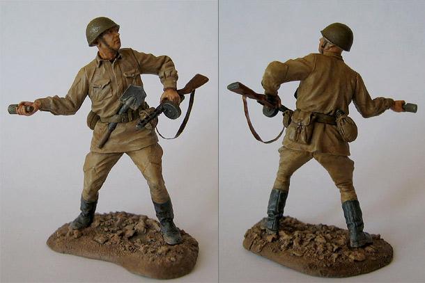 Figures: Soviet Infantryman