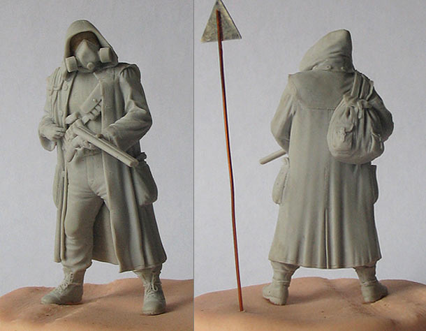 Sculpture: Stalker. The Beginning