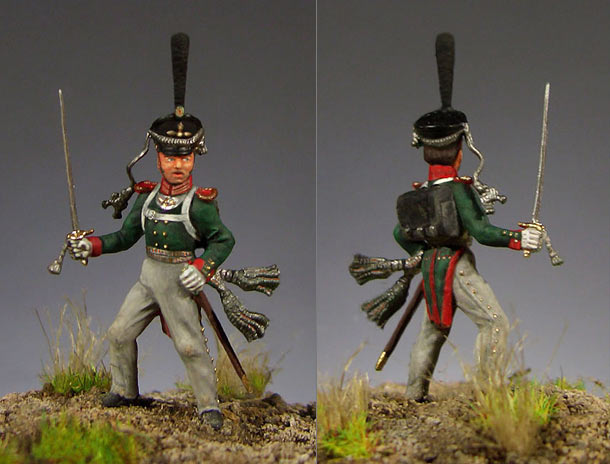 Figures: Ober-officer of Leib-Guards regt, Russia, 1812