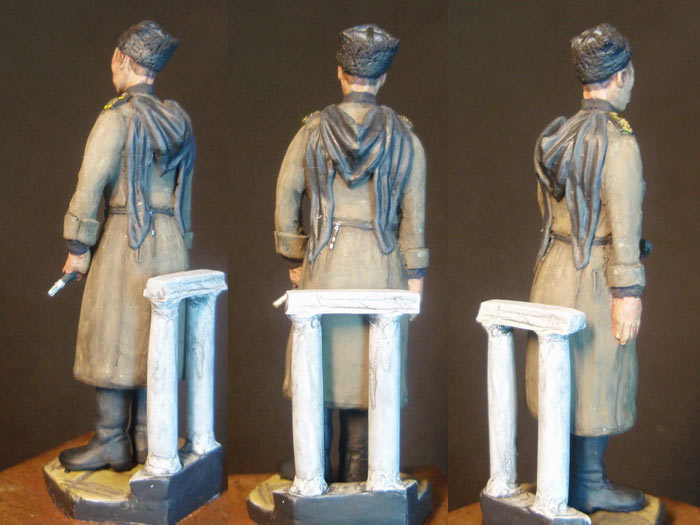 Sculpture: Russian naval infantryman, WWI, photo #3