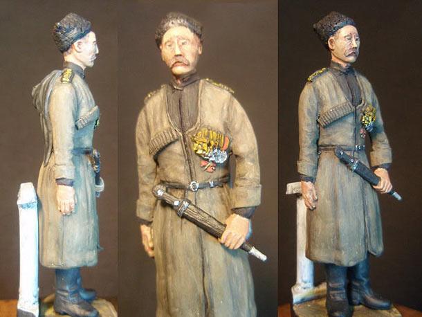 Sculpture: Russian naval infantryman, WWI